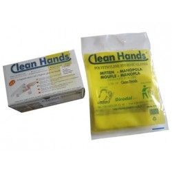 CLEAN HANDS 100 GUANTI RICAMBIO