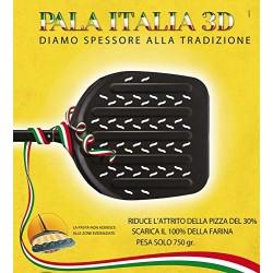 """PALA LILLY  """"ITALIA 3 D"""" ALLUMINIO ANODIZZATO"""
