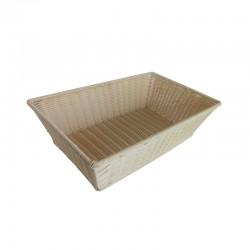 CESTO ESPOSIZIONE PANE PVC CM 53 X 32 X 15