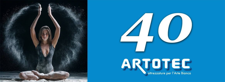 40 anni ARTOTEC